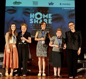 Homesharers stole the show at the congress